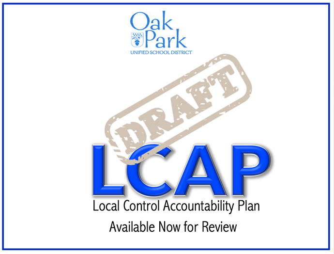 OPUSD Draft LCAP - Available for review now!