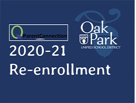 OPUSD Re-enrollment logo