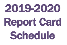 Report Card Schedule