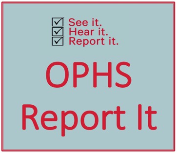 OPHS Report-It