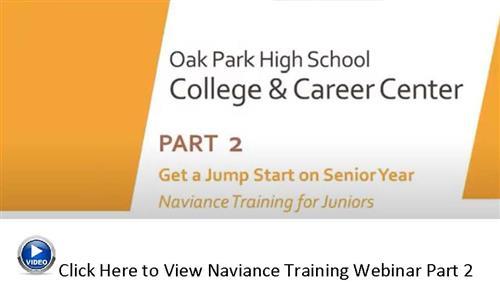 Naviance Webinar Part 2