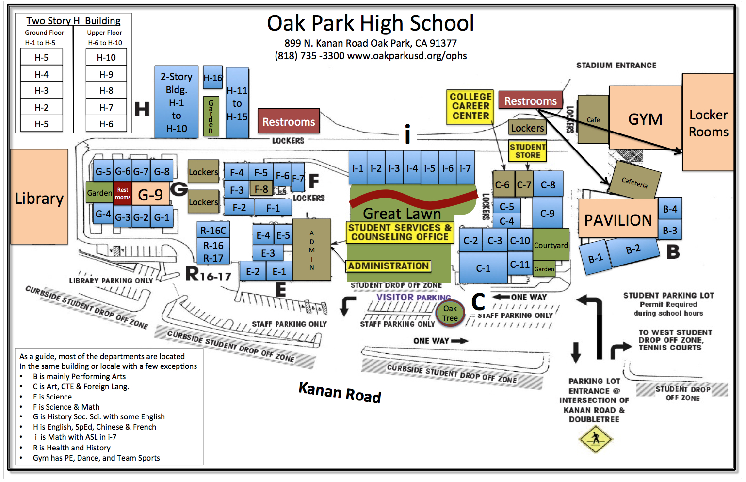Oak Park California Map.Map Directions Parking Info Welcome