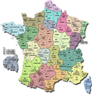 La France Les départements