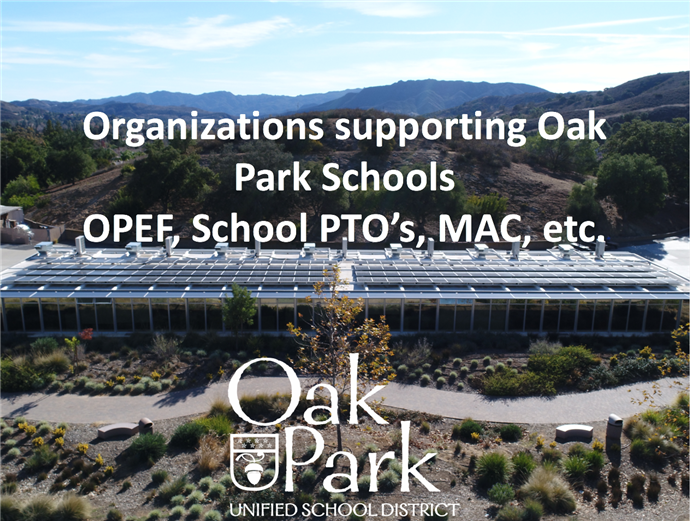 Organizations Supporting Oak Park USD