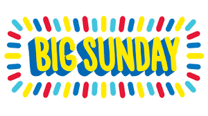 Register For Big Sunday!  Click here to register!